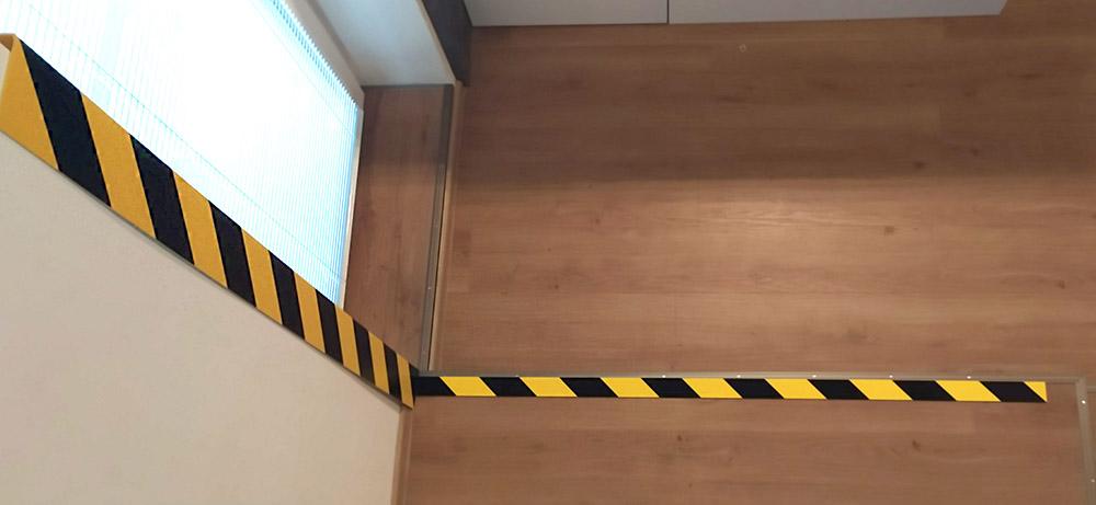 Bezpečnostná rohová lišta, SETRA